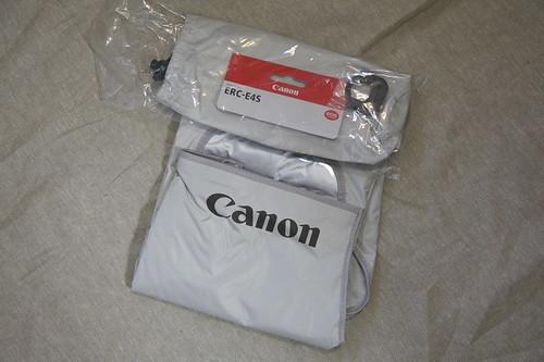 Canon・ERC-E4Sレインカバー