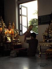 Pray Buddha-Statue