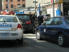 NYPD Car Stop 2 (buff_wannabe) Tags: nyc car cops over police nypd stop cop policecar pulled