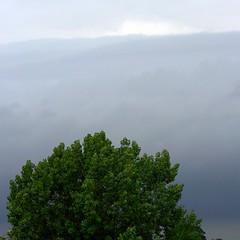 bank (mizzledrizzle) Tags: storm rain weather clouds grey cloudage