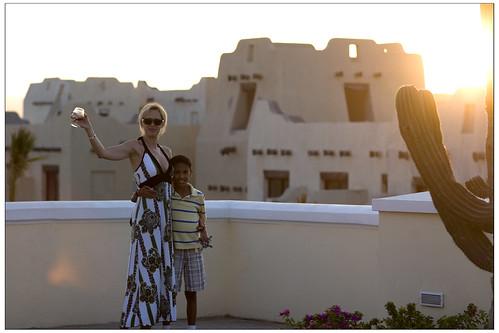 Riu Palace Cabo sunset cheers