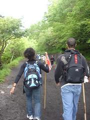 the fuji-sama climb (8) (Kav P) Tags: travel friends japan scenery july andrew mountfuji 2007 dawnielle kavp
