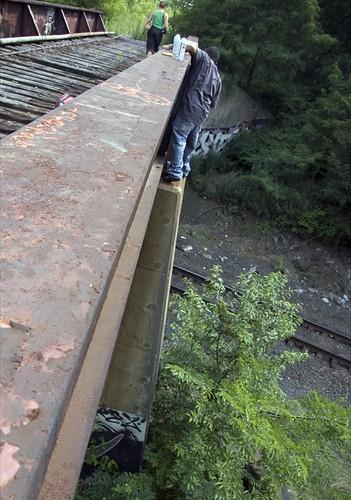 Indiana SLuGS on the Bridge of Doom