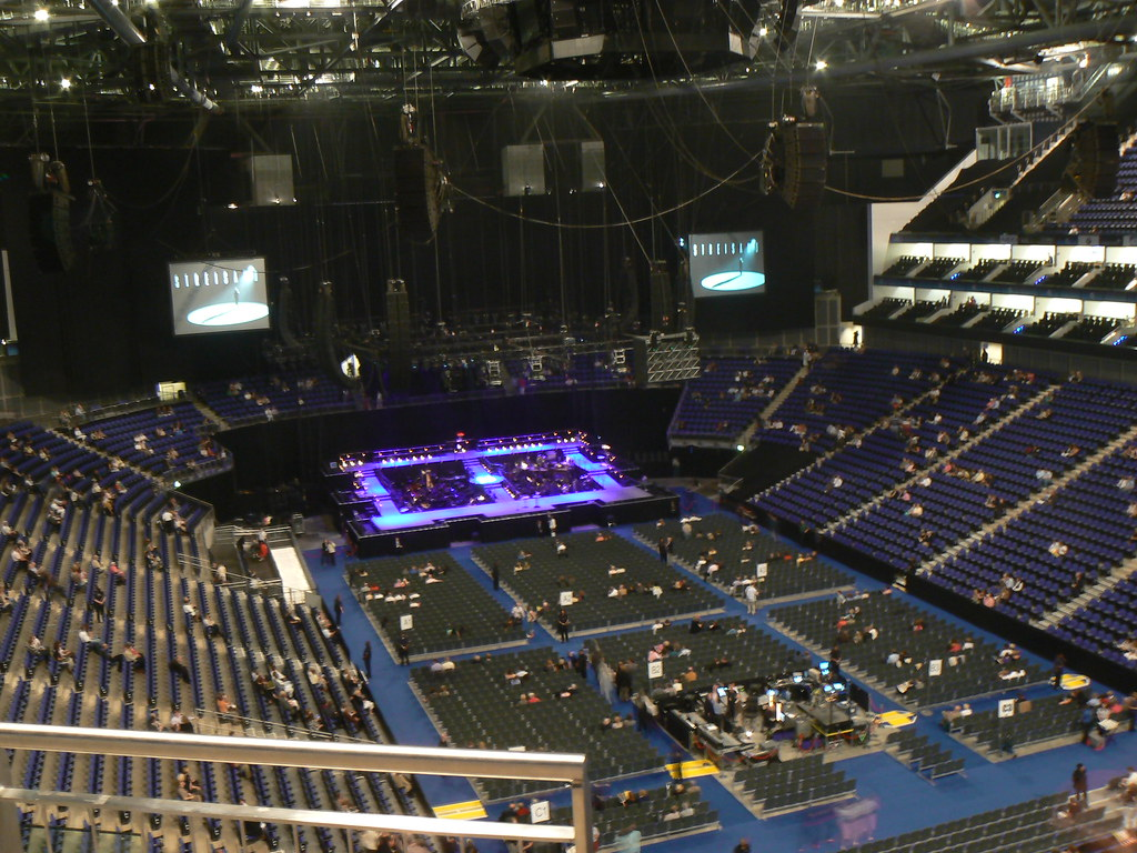 Lg Arena Floor Plan Block 113 In The O2 Arena London Opinions On The View