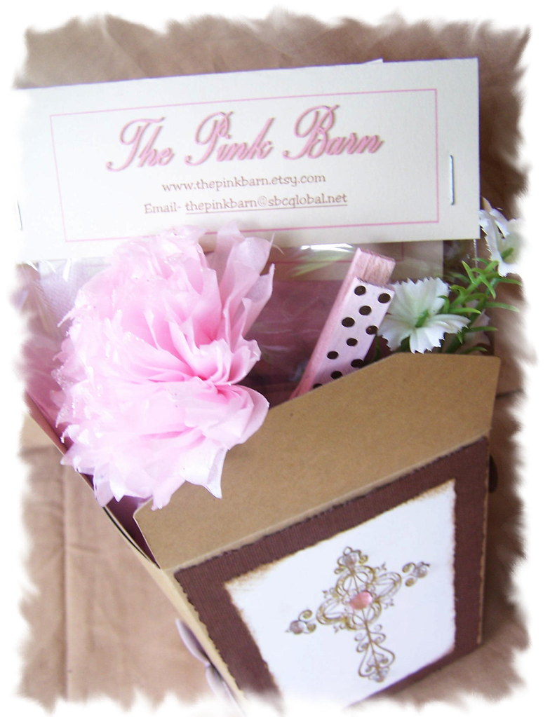Pink Cowgirl Gift Basket