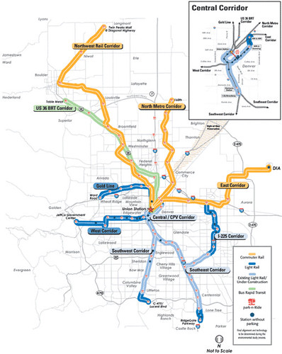 Denver Light Rail System