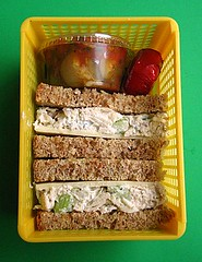 Sandwich lunch for preschooler