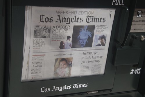 Last Sunday's LA Times par Steve Rhodes