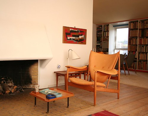 Chieftain chair in Finn Juhl's home