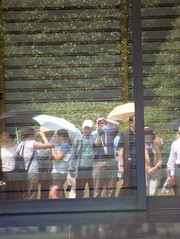Me reflected in the Imperial Palace