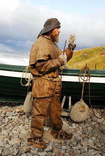 Viking Man in Bolungarvik