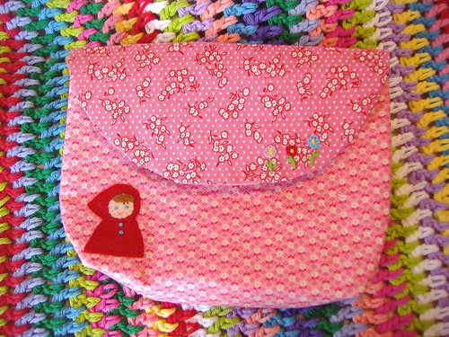 Pink Red Riding Hood Pouch