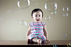 Bubbles. (jwlphotography) Tags: bubbles 5d kayla reflector strobist 3lights jwlphotography