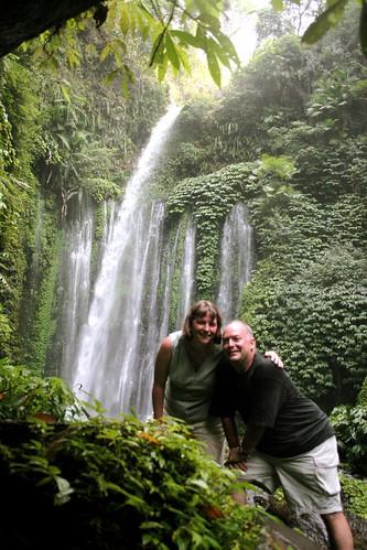Tiu Kelep Waterfall, Lombok