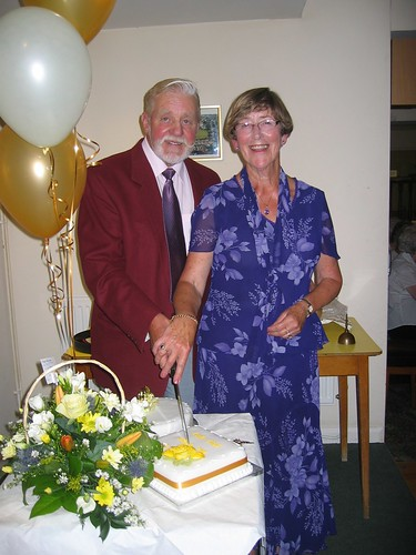 Pam and Arthur Hardy on their 50th Wedding Anniversary
