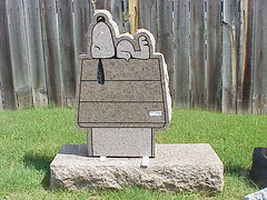 Snoopy R.I.P. (sunnybrook100) Tags: dog beagle tombstone peanuts snoopy vanburen arkansas doghouse tombstones crawfordcounty charlesschultz ockermonuments