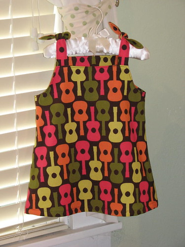 Groovy Guitars Dress