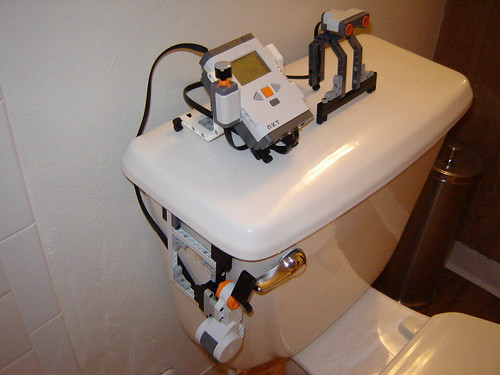 Automatic Flushing Toilet