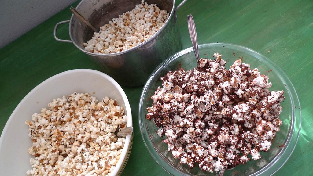 popcorn trio