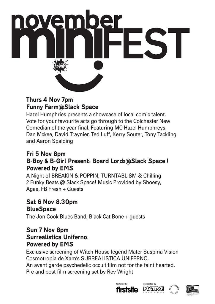 November Mini-Fest