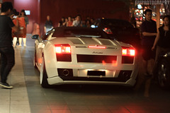 Night Life (EriPhotography) Tags: singapore nightshot nightlife panning lamborghini gallardo gallardospyder gspyder eriphotography