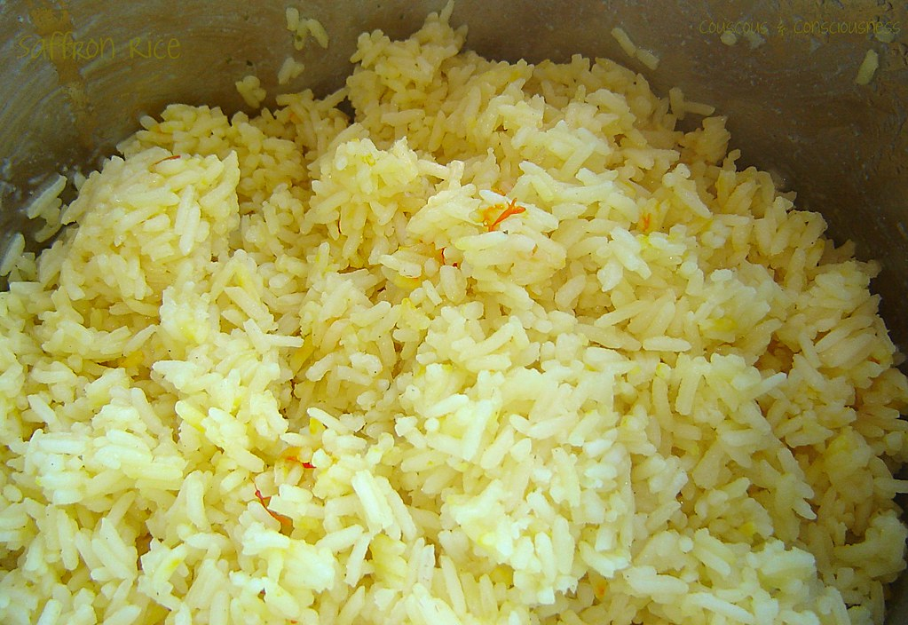 Saffron Rice with Nuts 2