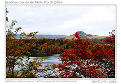 Le lac Pavin,  l'automne (BerColly) Tags: autumn sky lake france clouds automne landscapes google flickr lac falls ciel nuages paysages auvergne pavin puydedome abigfave nikkor35f2d bercolly