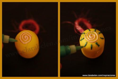 Huevo sorpresa y Kinder para decorar el árbol de Navidad