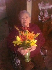 Aunt Shirley & Memorial Flowers