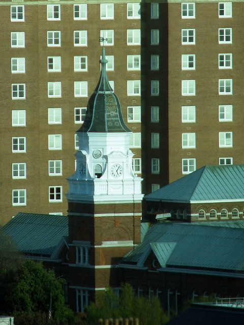 Sunsphere View: Knox Co. Courthouse