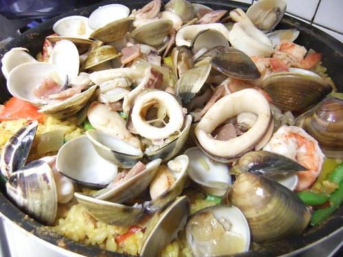 西班牙海鮮燉飯 044