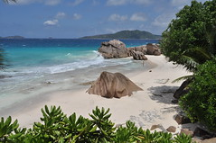 Anse Patates, La Digue (pentlandpirate) Tags: blue sea coral relax islands sand paradise turquoise indianocean palm exotic granite tropical seychelles equator mahe ladigue seychellen seychelle