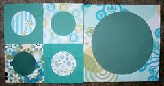 Spots quilt blocks