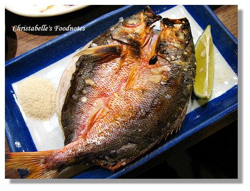 五分埔生魚片烤紅尾東