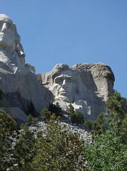 Mount Rushmore South Dakota USA (Fran 53) Tags: horse crazy mt south july rushmore dakota 2007