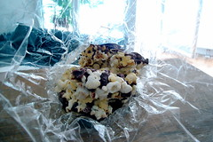 salty chocolate popcorn