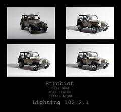 Lighting 102 2.1 (dcumminsusa) Tags: scale model jeep softness 112 assignments strobist dcumminsusa dcummins lighting102