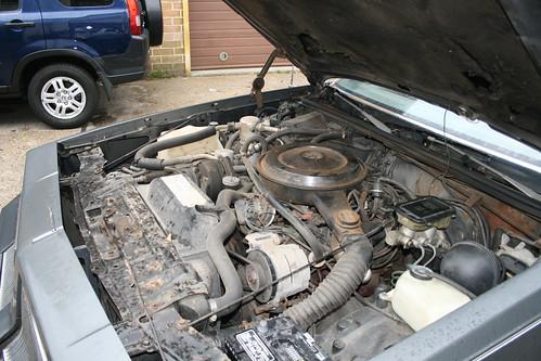 86 Cutlass. 86 Cutlass Engine