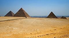 View of the Pyramids (Deydodoe) Tags: africa travel monument canon wonder sand ancient all desert pyramid tomb  egypt middleeast icon cairo rights pharaoh pyramids egipto reserved giza tombs sevenwonders 2007 ancientegypt khufu khafre 30d greatpyramid pharoahs 7wonders canon30d menkaure pyramidofkhafre allrightsreserved pyramidofkhufu pyramidofmenkaure may2007 worldicon platinumheartaward deydodoe