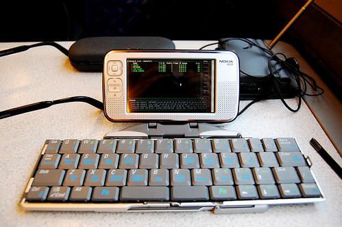 N800 running Kismet