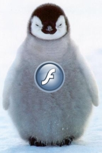 Flash Player Penguim