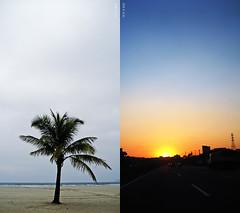 Santos (19°) _________ Sampa (28°) (GraceOda) Tags: sunset pordosol praia beach canon sãopaulo sampa sp santos naestrada ontheroad gonzaga sd630