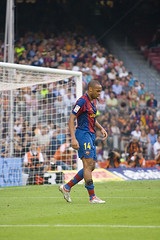 FCBarcelona-Athletic Club - Jorn.01 2007-2008, Thierry Henry