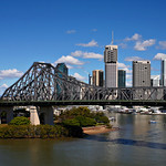 Brisbane Skyline and Story Bridge