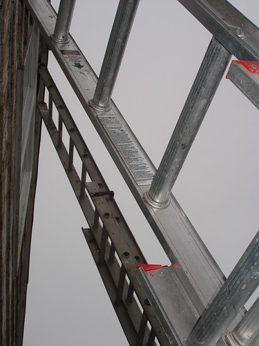 double ladder walkway