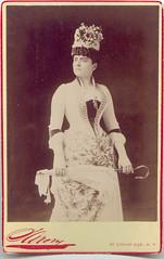 pauline hall (Belle Epoque 1900s) Tags: ladies beauty hat vintage antique victorian gloves parasol belle corset elegant tighlacer