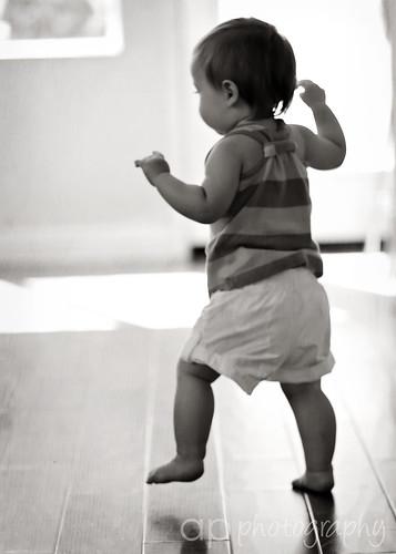 Bayi Belajar Berjalan