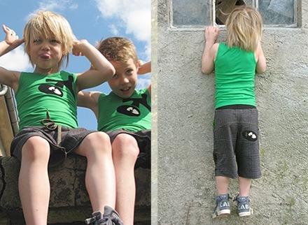 Moda infantil verano 2010, ropa para niños de Zilly Banana