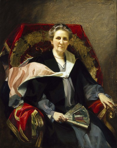 Portrait of Emily Jordan Folger by Frank O. Salisbury (Courtesy Folger Shakespeare Library)