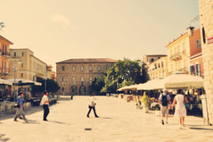 a square in nafplio. (tahnijoy) Tags: street plaza people square greece nafplio bustling